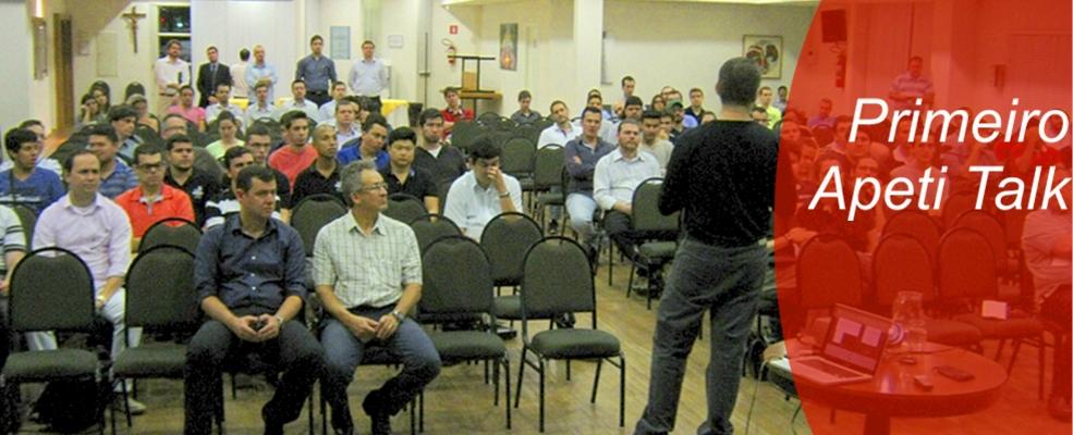O primeiro Apeti Talk reuniu cerca de 120 pessoas para discutir sobre ciberameaças