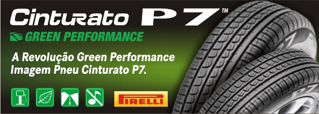 Pneus Green Performance Cinturato P7