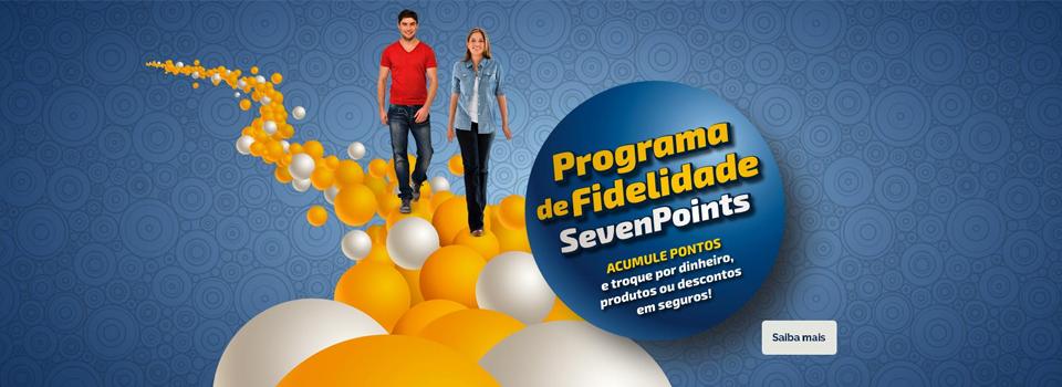 Programa de Fidelidade Seven Points