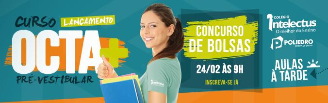 Concurso de Bolsas - OCTA +  - Aulas à Tarde