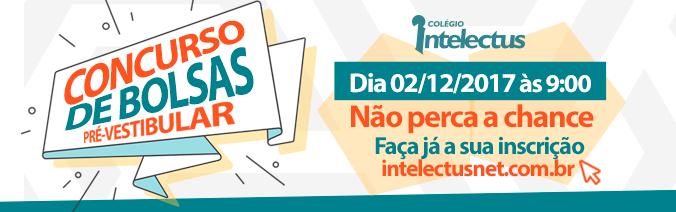 Clique aqui e inscreva-se para o Concurso de Bolsas do Pré-Vestibular Intelectus!