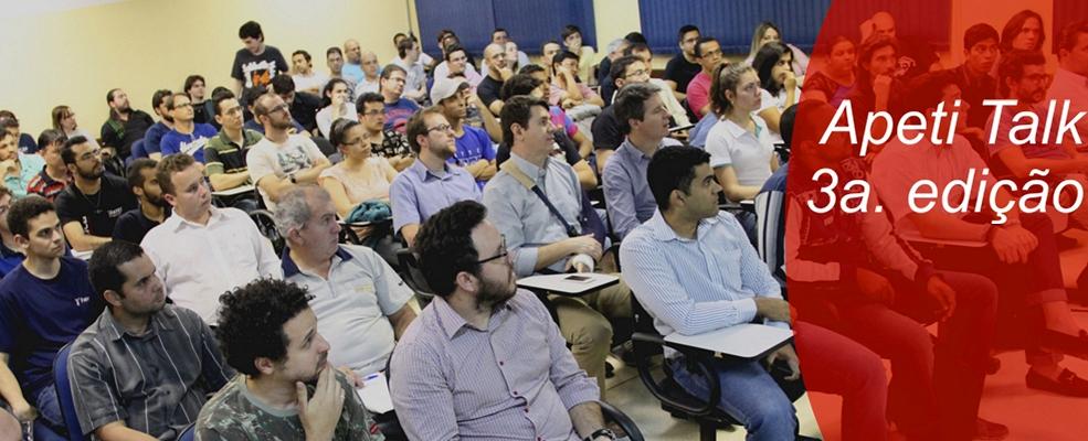 Confirmando o sucesso dos encontros anteriores, o auditorio da Fatec ficou pequeno para assistir  ao debate sobre o futuro das plataformas Java, .Net e Ruby