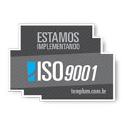 Selo da ISO 9001-2