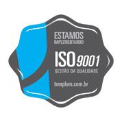 Selo da ISO 9001-3